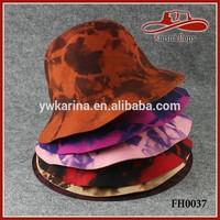Splash-ink Design 100 Austria Womens Cloche Wool Felt Bowler Hats