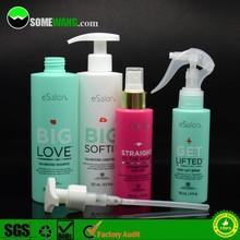 2015 flush shoulder HDPE plastic bottle for hair care