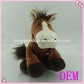 alta qualidade cavalo pônei brinquedos de pelúcia