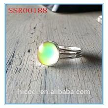 High quality fashion design hot sale wholesale mood ring