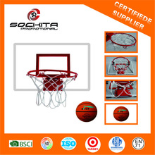 "9"" steel rim with basketball board"