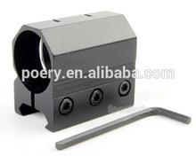 """1 """" de la linterna del Laser 7/8 pulgadas Picatinny carril del tejedor para táctica de la antorcha FT01"""