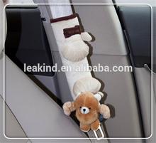 kid car seat belt shoulder pad/car plush seat belt cover /safety car belt cover