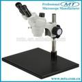 Mzs0740 7x-40x fácil de operar de zoom estéreo microscopio estudiante