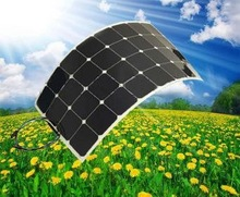 USA sunpower semi flexible solar panel make in China