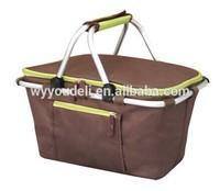2014 High Quality Custom Printed Non Woven waste Shopping Bag Wholesale shopping basket
