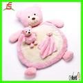 Le C1626 rosa stuffed teddy bear crianças cama, Bebê mat brinquedos de pelúcia