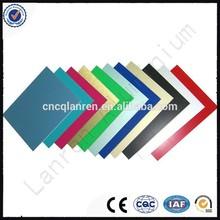 irrory white PVDF (Polyvinylidene Fluoride) Interior wall Aluminum Composite Panel