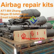 Marine air bag repair kit for ship launching air bag