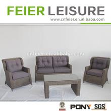Hot sale fashion outdoor wicker furniture sofa
