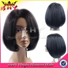 130%-180% density human hair remy lace front bob wigs for sale
