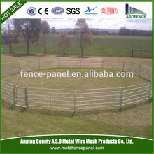 Australia 6 rails livestock horse fence panels/cattle production