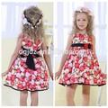 mais popular e bonito coreano vestido de moda para crianças de 11 anos