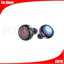 FOYUELEC stereo mini bluetooth earphone for cell phone small mini bluetooth earphone headset