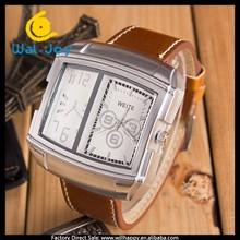 big watch case design trendy high quality factory direct cheap men watch(WJ-3186)