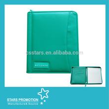 leather padfolio with zipper; pocket padfolio; padfolio with calendar