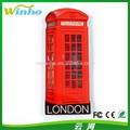 winho imán de nevera de londres la cabina telefónica
