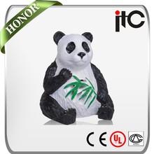 ITC T-900 15W 7.5W Waterproof Outdoor Panda Shaped 2.0 Garden Speaker for Background Music System