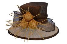 Wholesale Make Sinamay Church Hats with Amazing Flowers