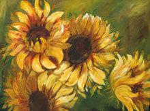 Low prices &Stunning Quality Leonid Afremov magnolia flower oil painting
