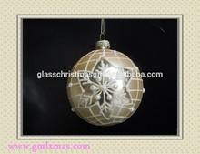 new christmas ornament,fashion christmas glass ball Wholesale glass ball christmas decorations