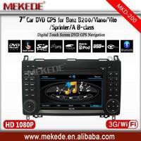 Car Multimedia System Car Audio DVD B class W245 2011