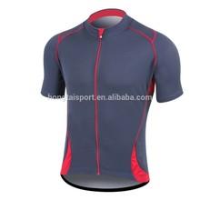 ODM Cycling clothing Riding Garments zipper top shirts Hongtai QUANZHOU BSCI factory
