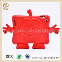 For iPad 2 Hard Cover Funny AppleGuy Design Kid Friendly EVA Case