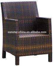 Aluminium Wicker Garden Chair With Cushion L80508