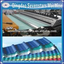 corrugated roof sheet making machine plastic