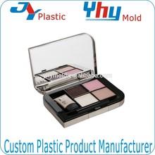 OEM newest designed plastic compact powder case / eye shadow case