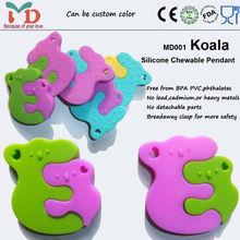 Food grade silicone teething pendant fashion fancy cheap high quality