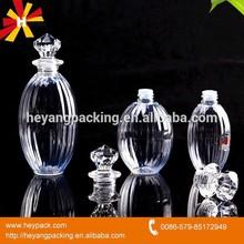 Round Clear Diamond cap car air freshener bottle