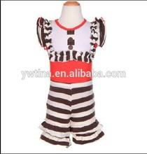 alibaba china summer clothing sets 2015 hot sale children's girl ruffled shorts sets outfit china supplier clothes sets