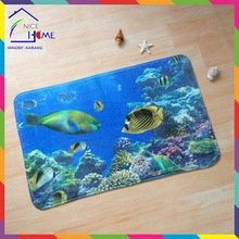 Submarine,undersea high quality latest shaggy rugs for children bedroom