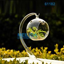 Crystal glass vase craft floral vases