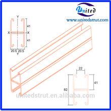 Steel double strut channel