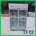 Freezer vertical, com portas de vidro congeladoresindustriais