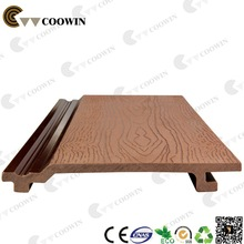 wood grain board red vinyl siding