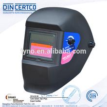 CE EN175 EN379 ANSI Z87.1 solar powered Auto Darkening welding helmet for TIG MIG welding