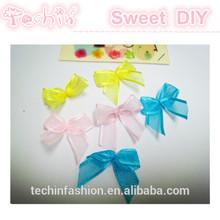 Mini Colorful Ribbon Bow for Underwear Decoration