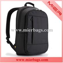 men's black nylon laptop backpack, leisure /casual daypacks,travel campus/sports/ school computor bag backpacks