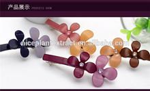Custom ACETATE hair pin/hair clips beautiful fancy hair clips