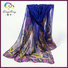 Professional Factory Supply Unique Fashionable single color scarves