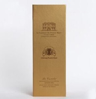 special paper wine packaging wine tube box