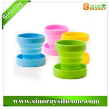 Wholesale Collapsible Silicone Cup Easy Preservation