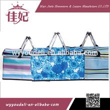 pink laundry basket,golf bag beverage cooler,easy to carry ice bag