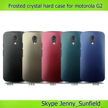 Mobile phone accessories ultra thin frosted rubber hard case for motorola moto g2 xt1063, for motorola moto g case