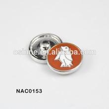 2014 ebay wholesale cute enamel birds snap press button jewelry NAC0153