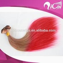 one piece clip in hai ,brazilian hair weave bundles